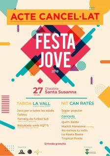 Cancel·lació Festa Jove
