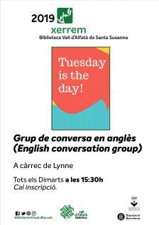 Grup de conversa en anglès