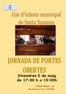 Jornada de portes obertes a la Llar d'Infants Municipal de Santa Susanna