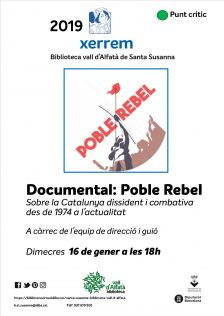 Documental Poble Rebel - gener 2019