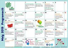 Programa activitats maig Biblioteca Vall d'Alfatà