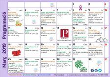 Programa d'activitats març - Biblioteca Vall d'Alfatà