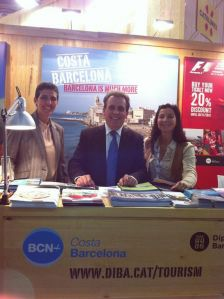 Santa Susanna present al World Travel Market de Londres