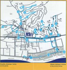 Mapa ruta bus escolar