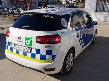Desfibril·lador cotxe policia