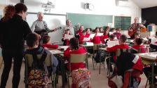 Havaneres a l'Escola Santa Susanna